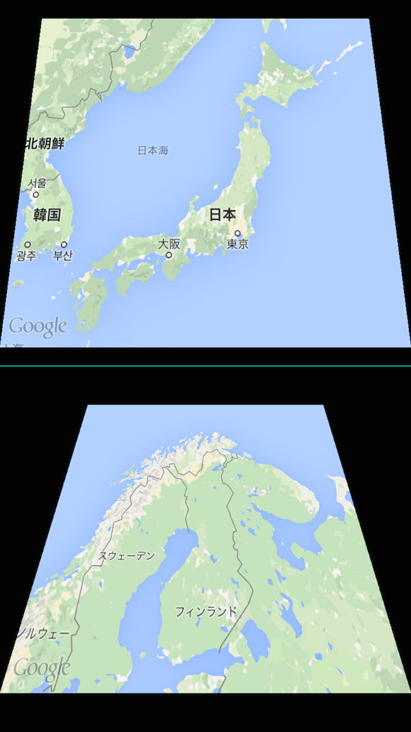 Comparison using DoubleMap